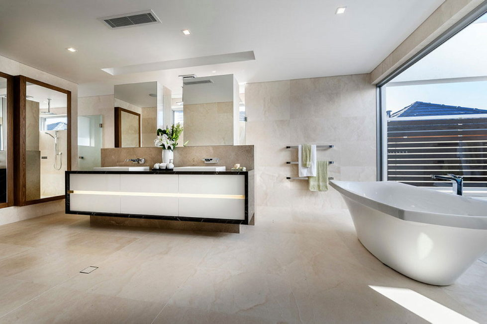 Geraldine Street Cottesloe The Modern Private House Upon The Project Of Signature Custom Homes 11