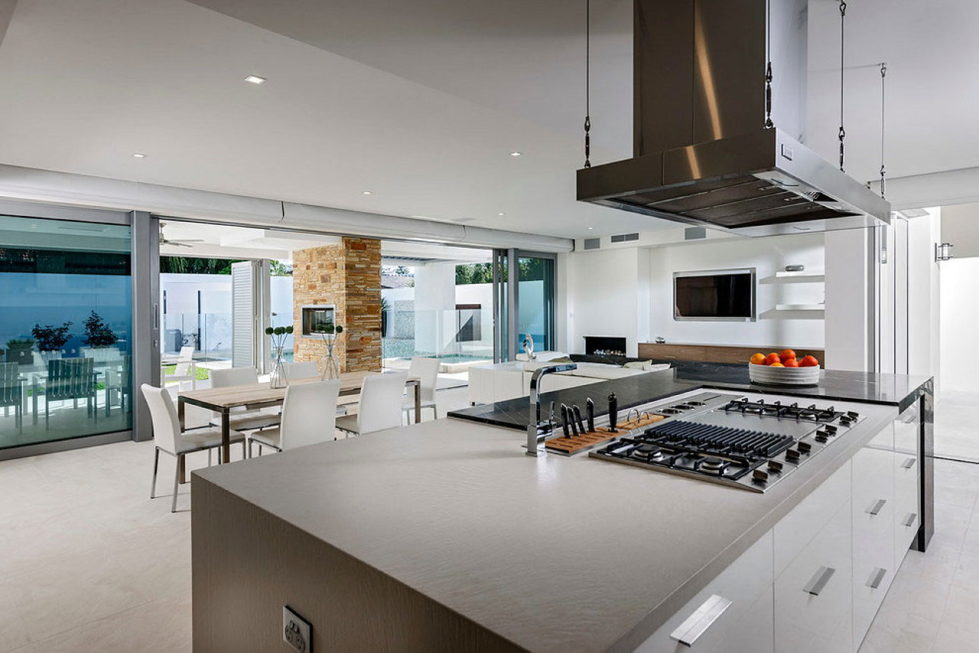 Geraldine Street Cottesloe The Modern Private House Upon The Project Of Signature Custom Homes 6