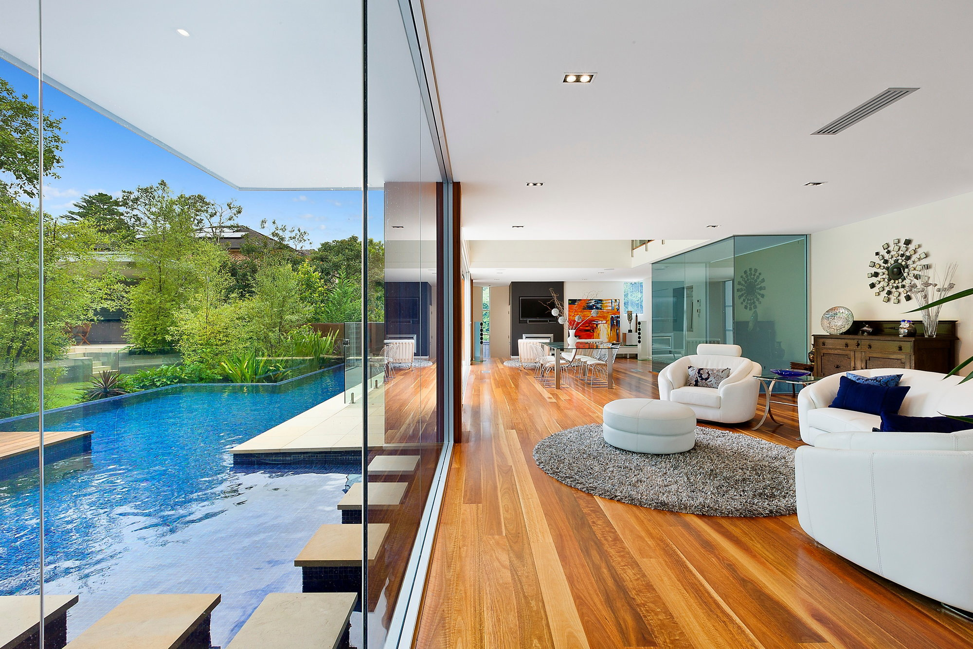 The House With Splendid Interior At The Suburb Of Sydney, Australia, From  Darren Campbell Architect Studio