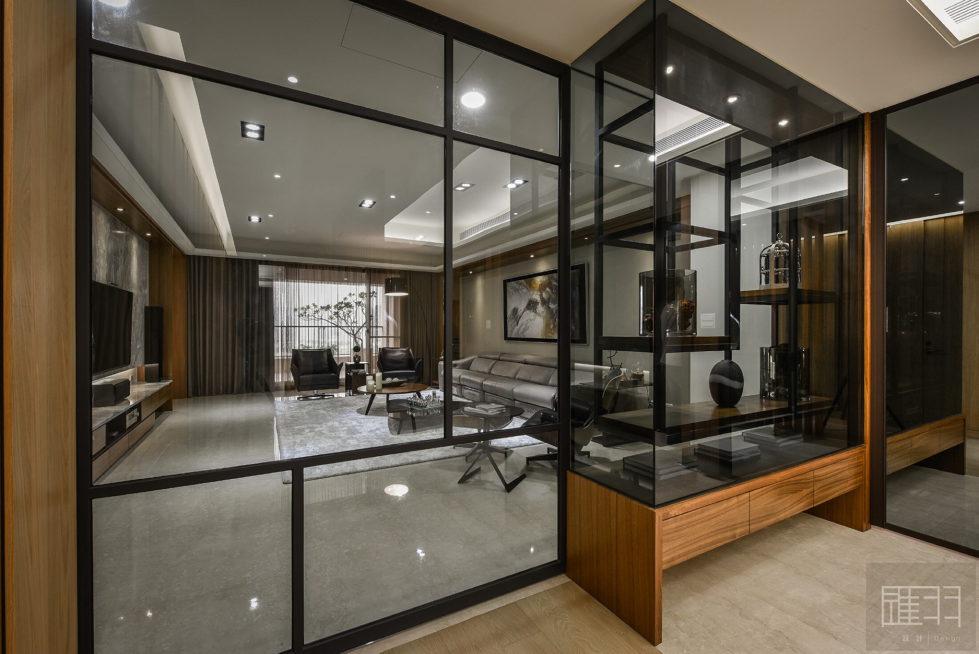 Interior Of The Apartment In Taiwan From Manson Hsiao, Hui-yu Interior Design Studio 1