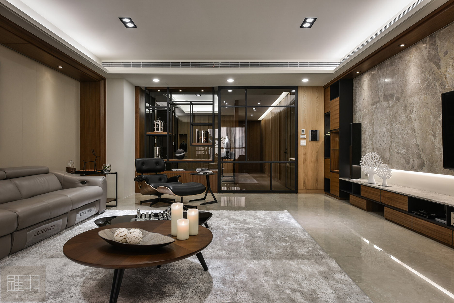 interior of the apartment in taiwan from manson hsiao, hui-yu