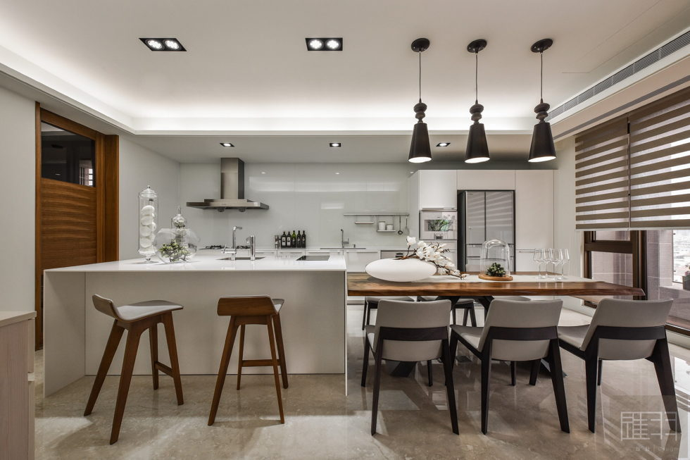 Interior Of The Apartment In Taiwan From Manson Hsiao, Hui-yu Interior Design Studio 11