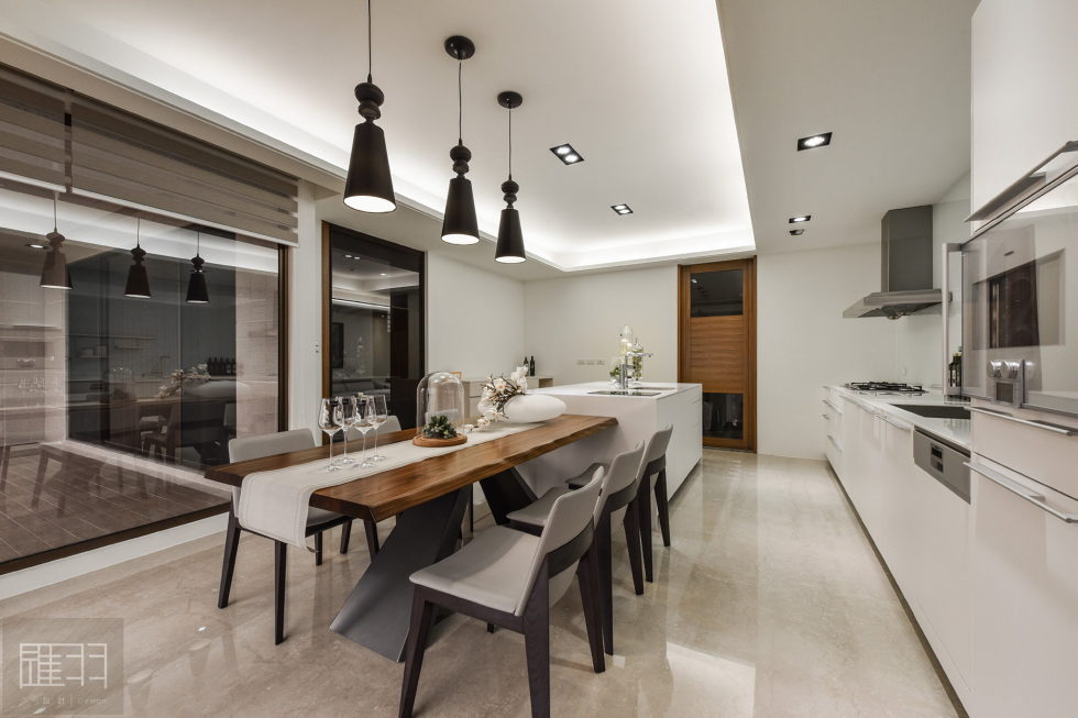 Interior Of The Apartment In Taiwan From Manson Hsiao, Hui-yu Interior Design Studio 13
