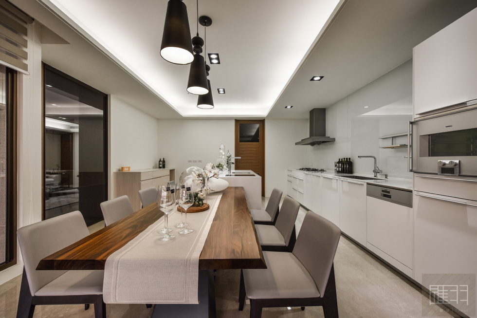 Interior Of The Apartment In Taiwan From Manson Hsiao, Hui-yu Interior Design Studio 14