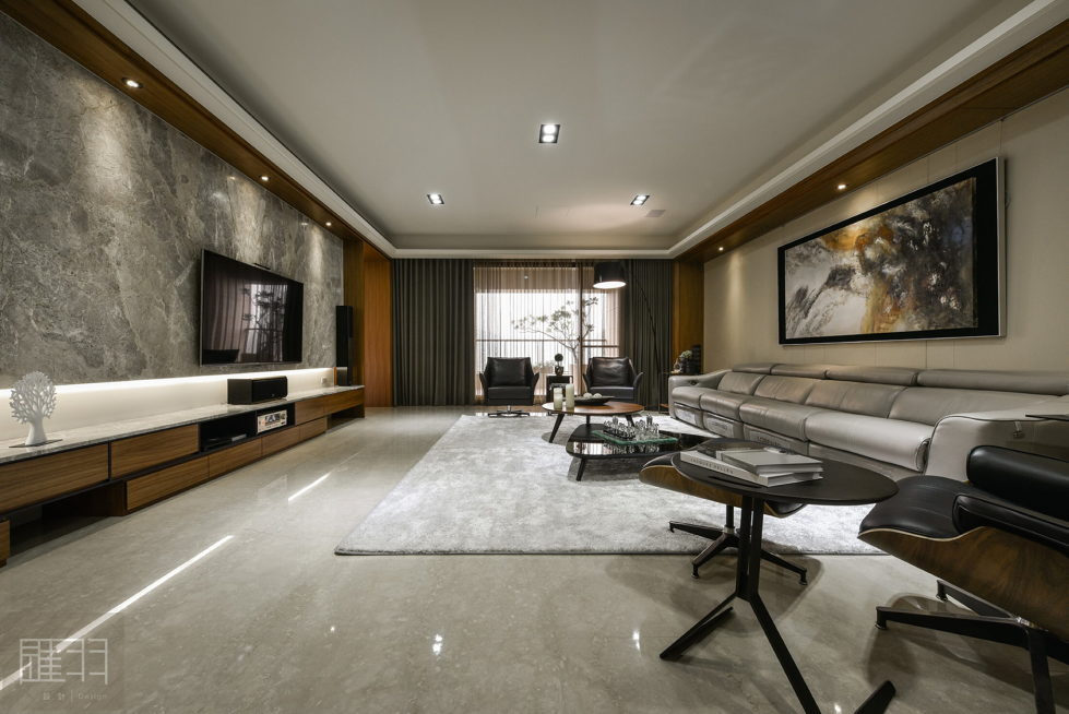 Interior Of The Apartment In Taiwan From Manson Hsiao, Hui-yu Interior Design Studio 4