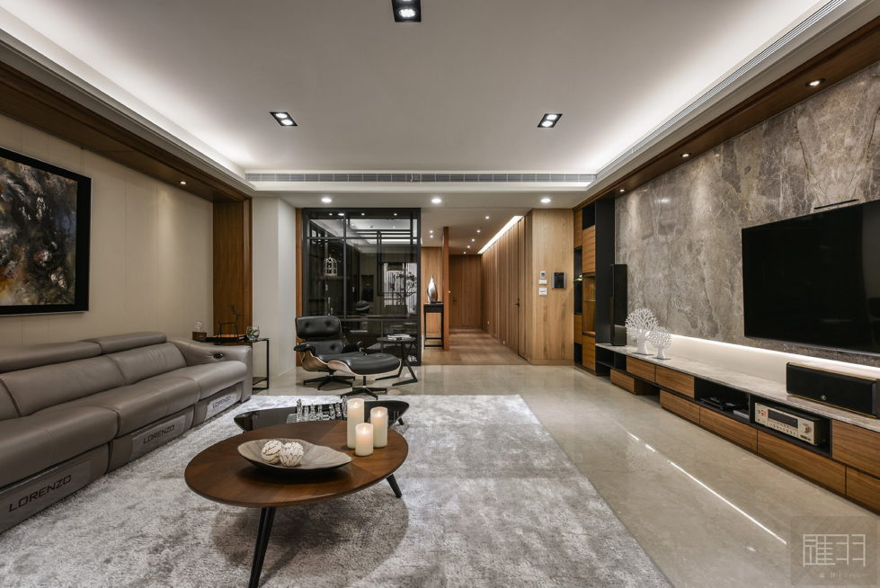 Interior Of The Apartment In Taiwan From Manson Hsiao, Hui-yu Interior Design Studio 9