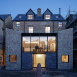 Joining of two residences together in the Victorian style in Oxford