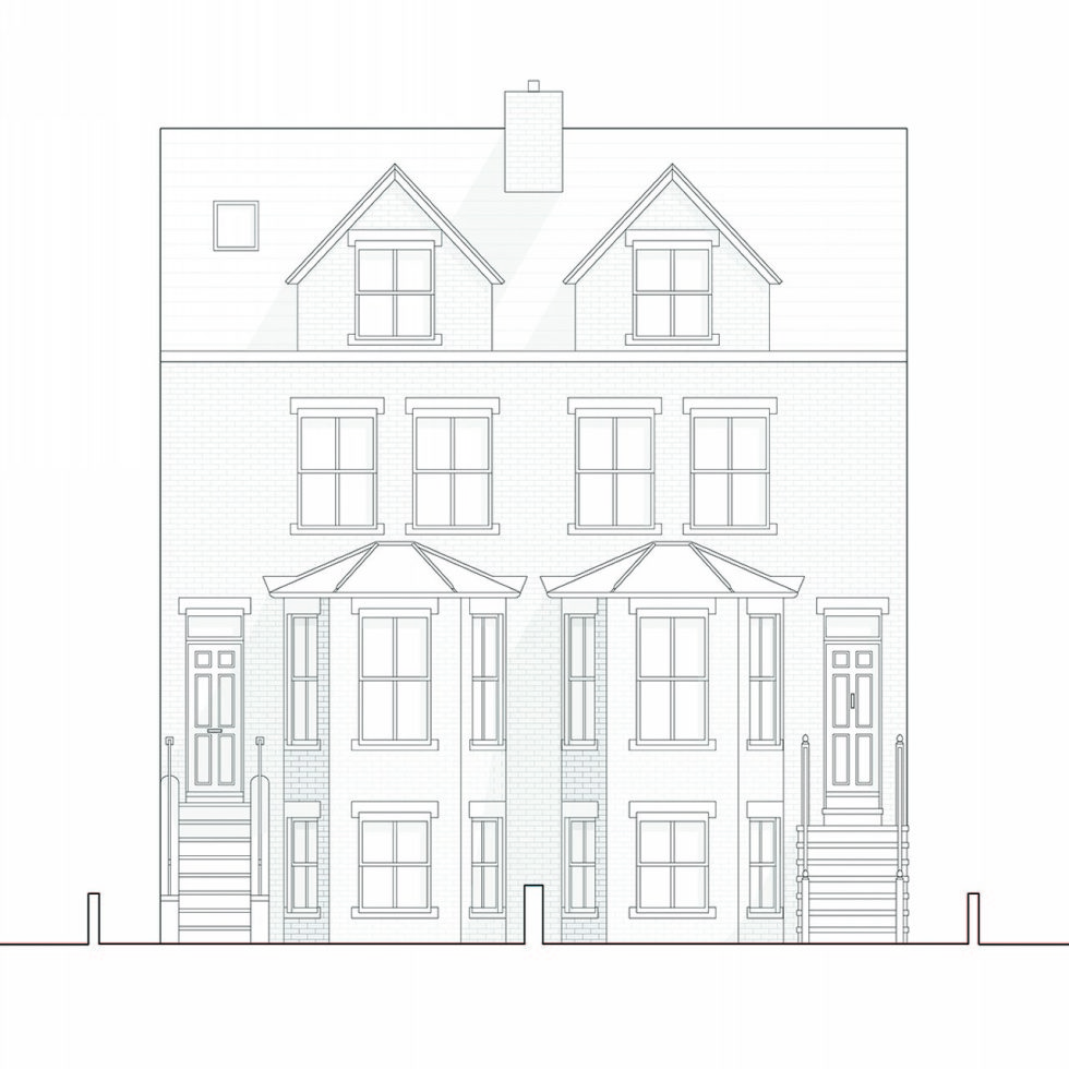 Joining of two residences together in the Victorian style in Oxford - Plan 8