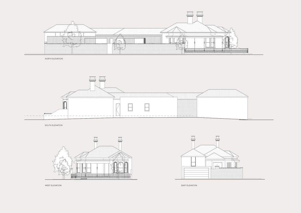 Merton Private Residency In Australia Combination Of Victorian And Modern Architecture - Plan 2