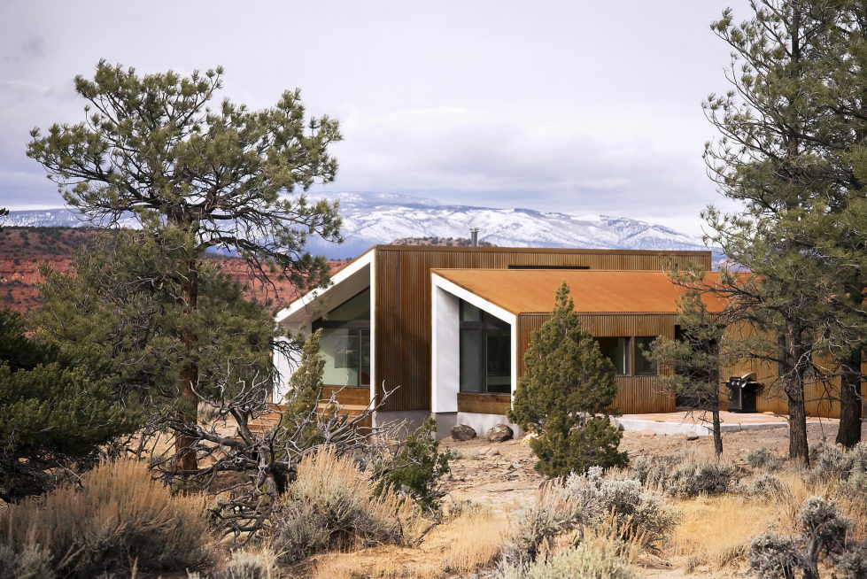 Original Project Of The House In Capitol Reef National Park From Imbue Design Bureau 1