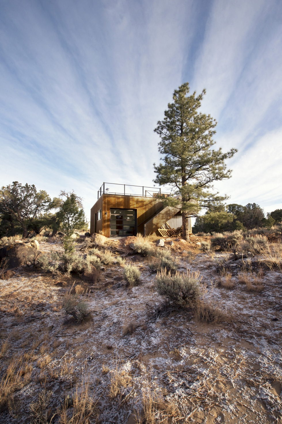 Original Project Of The House In Capitol Reef National Park From Imbue Design Bureau 10