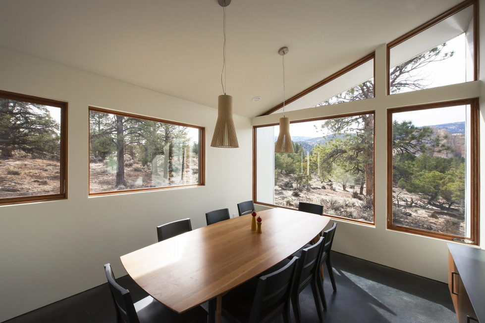 Original Project Of The House In Capitol Reef National Park From Imbue Design Bureau 13