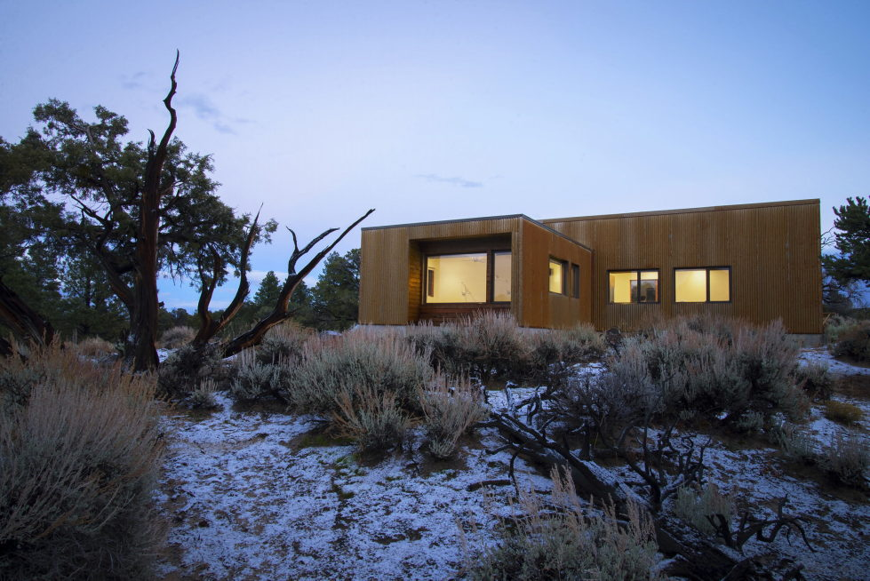 Original Project Of The House In Capitol Reef National Park From Imbue Design Bureau 15