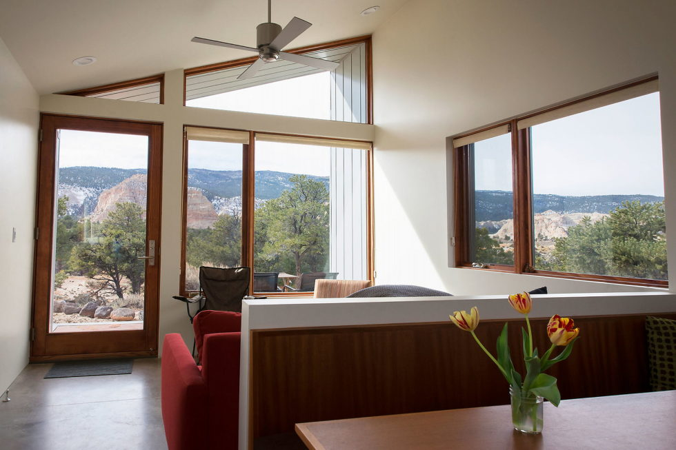 Original Project Of The House In Capitol Reef National Park From Imbue Design Bureau 16