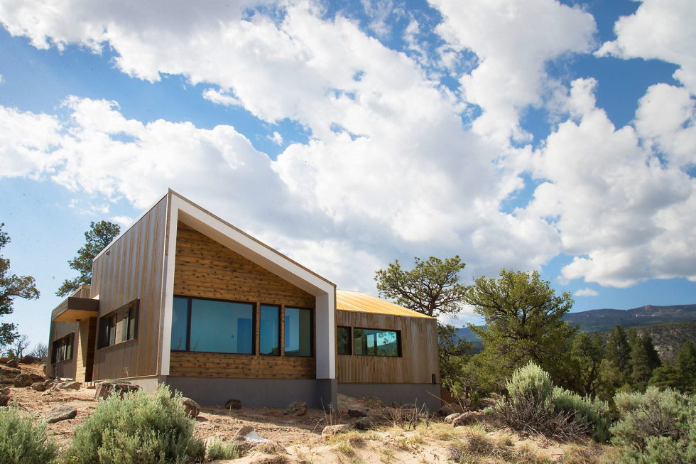 Original Project Of The House In Capitol Reef National Park From Imbue Design Bureau 18