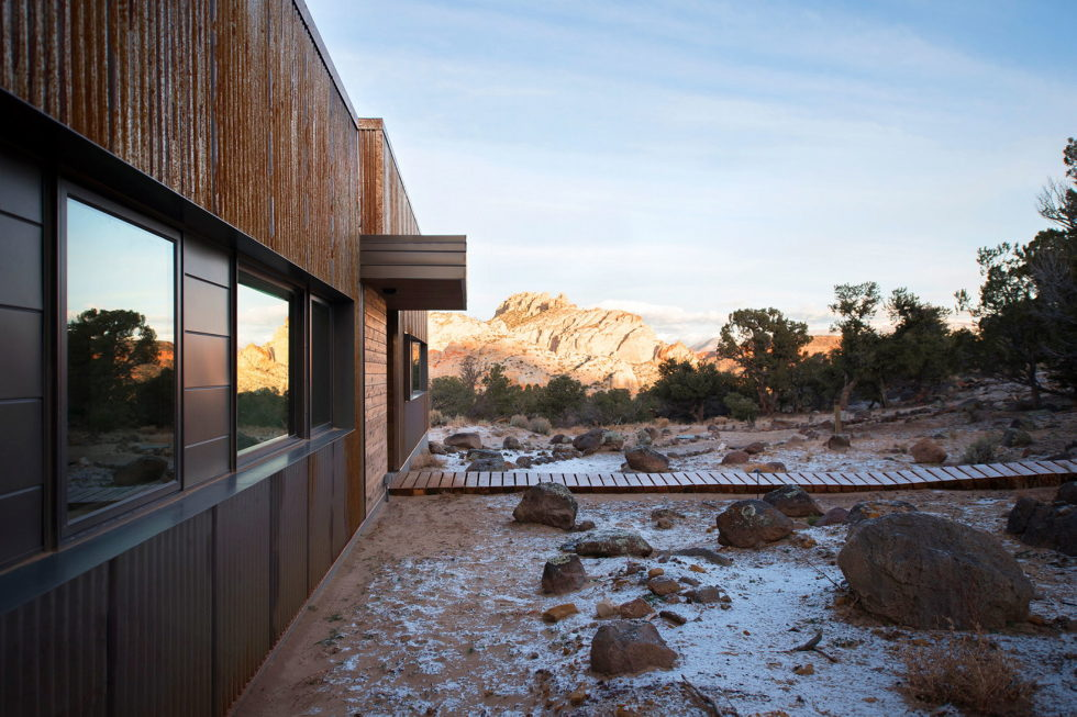 Original Project Of The House In Capitol Reef National Park From Imbue Design Bureau 19