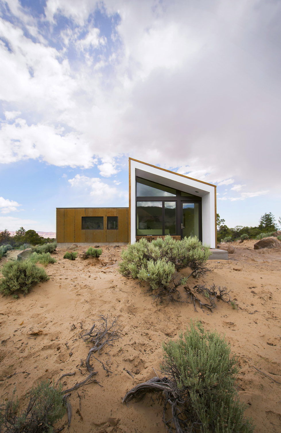 Original Project Of The House In Capitol Reef National Park From Imbue Design Bureau 3