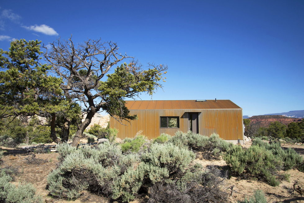 Original Project Of The House In Capitol Reef National Park From Imbue Design Bureau 4
