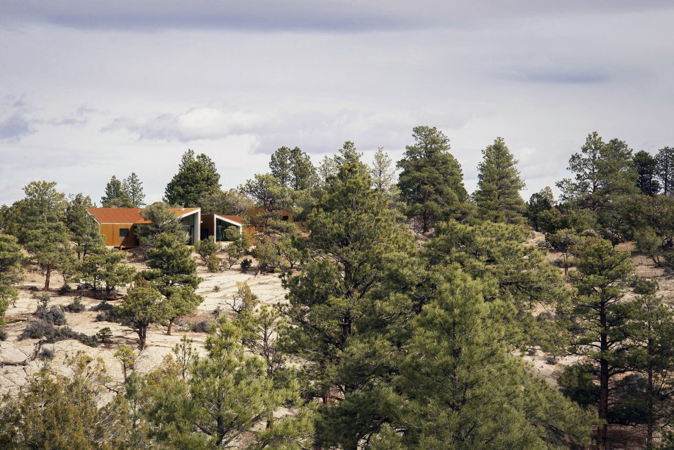 Original Project Of The House In Capitol Reef National Park From Imbue Design Bureau 5