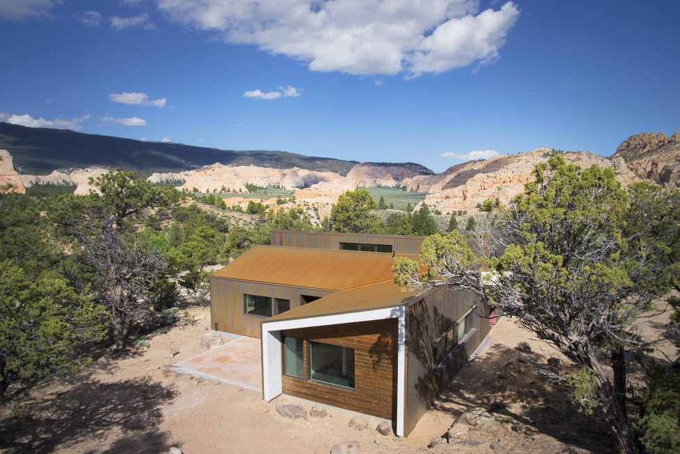 Original Project Of The House In Capitol Reef National Park From Imbue Design Bureau 6