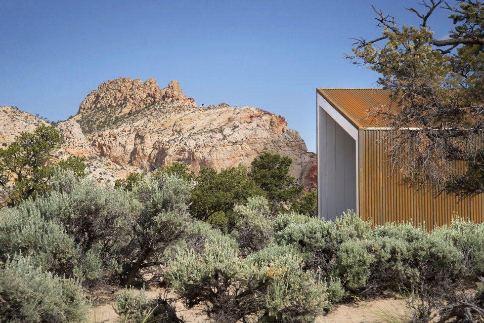 Original Project Of The House In Capitol Reef National Park From Imbue Design Bureau 7