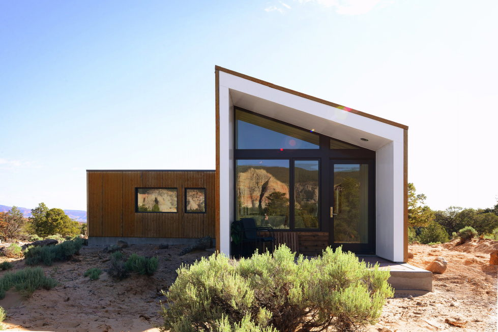 Original Project Of The House In Capitol Reef National Park From Imbue Design Bureau 9