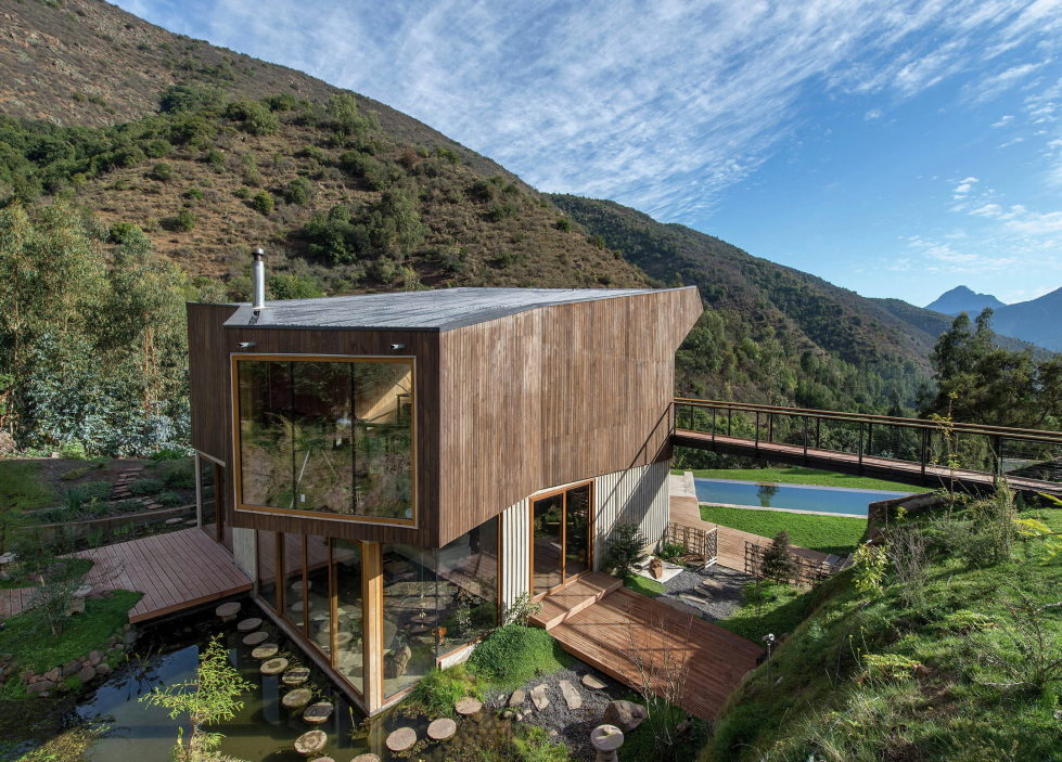 Private Country House Casa El Maqui At The Root Of Mountain In Chile From GITC Arquitectura Studio 1