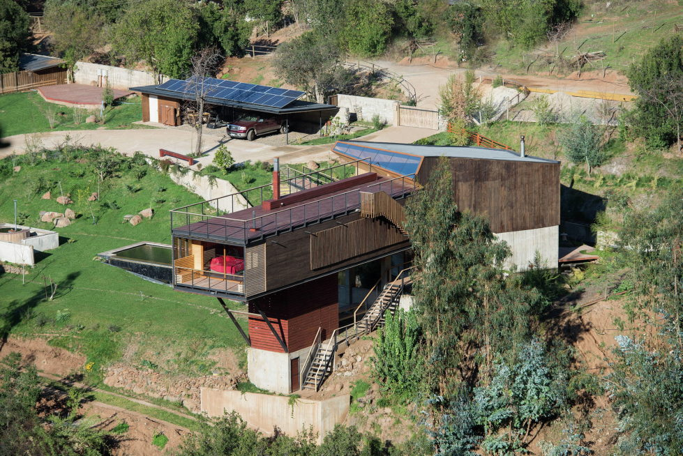 Private Country House Casa El Maqui At The Root Of Mountain In Chile From GITC Arquitectura Studio 13