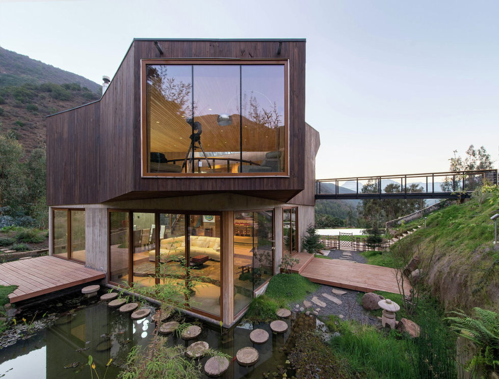 Private Country House Casa El Maqui At The Root Of Mountain In Chile From GITC Arquitectura Studio 14
