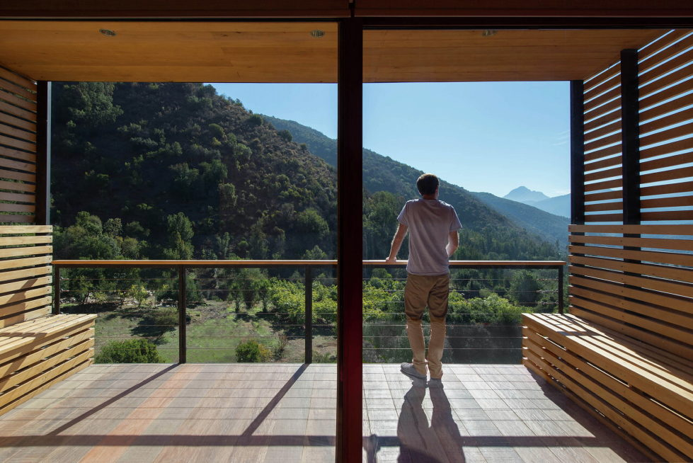 Private Country House Casa El Maqui At The Root Of Mountain In Chile From GITC Arquitectura Studio 15