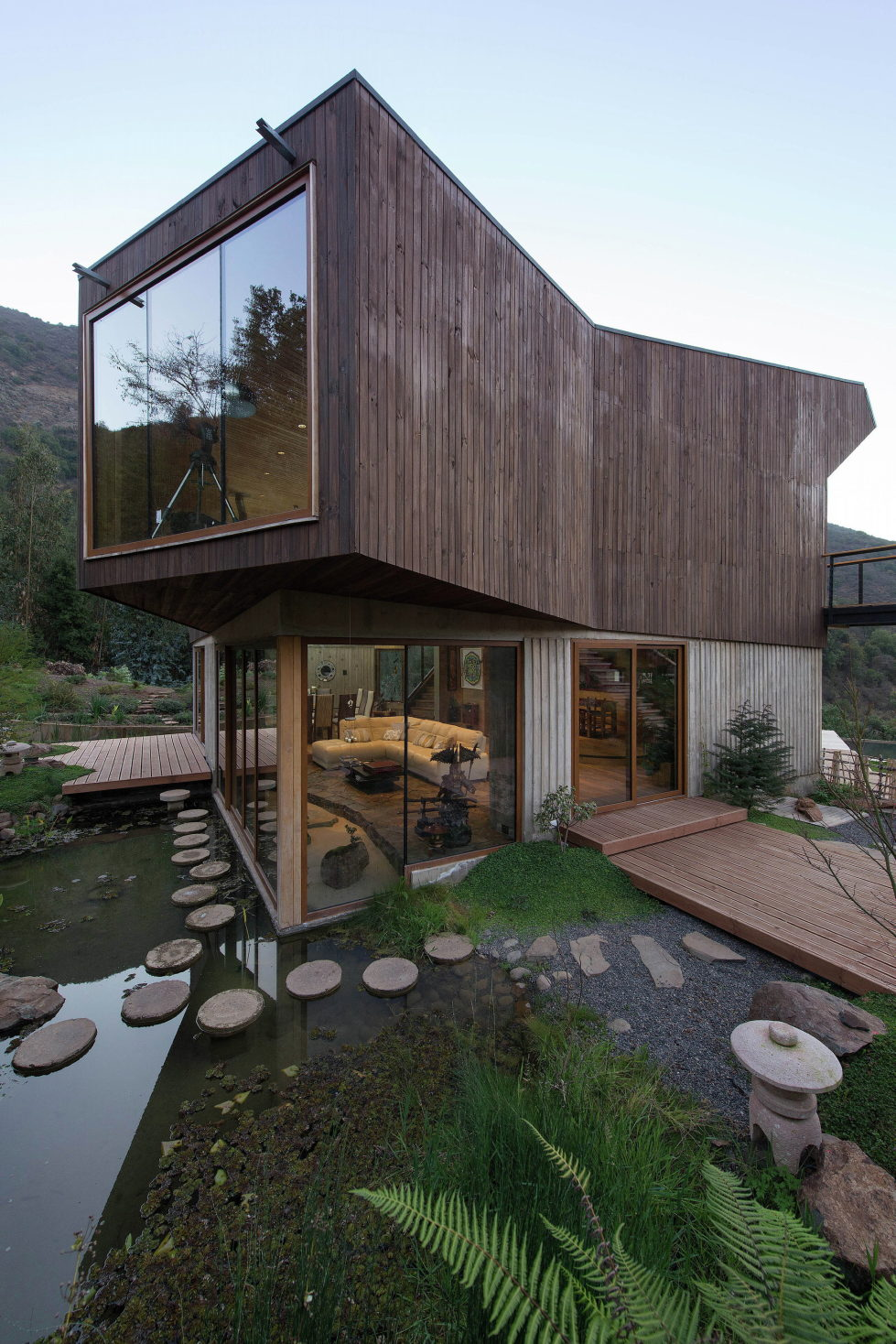 Private Country House Casa El Maqui At The Root Of Mountain In Chile From GITC Arquitectura Studio 2