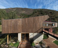 Private Country House Casa El Maqui At The Root Of Mountain In Chile From GITC Arquitectura Studio