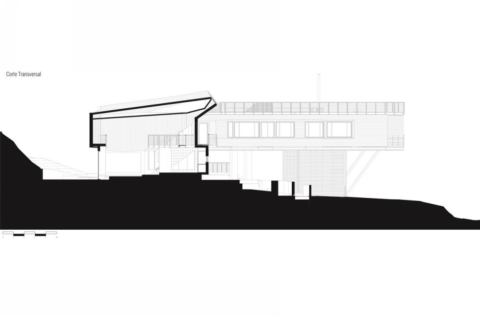 Private Country House Casa El Maqui At The Root Of Mountain In Chile From GITC Arquitectura Studio - Plan 4