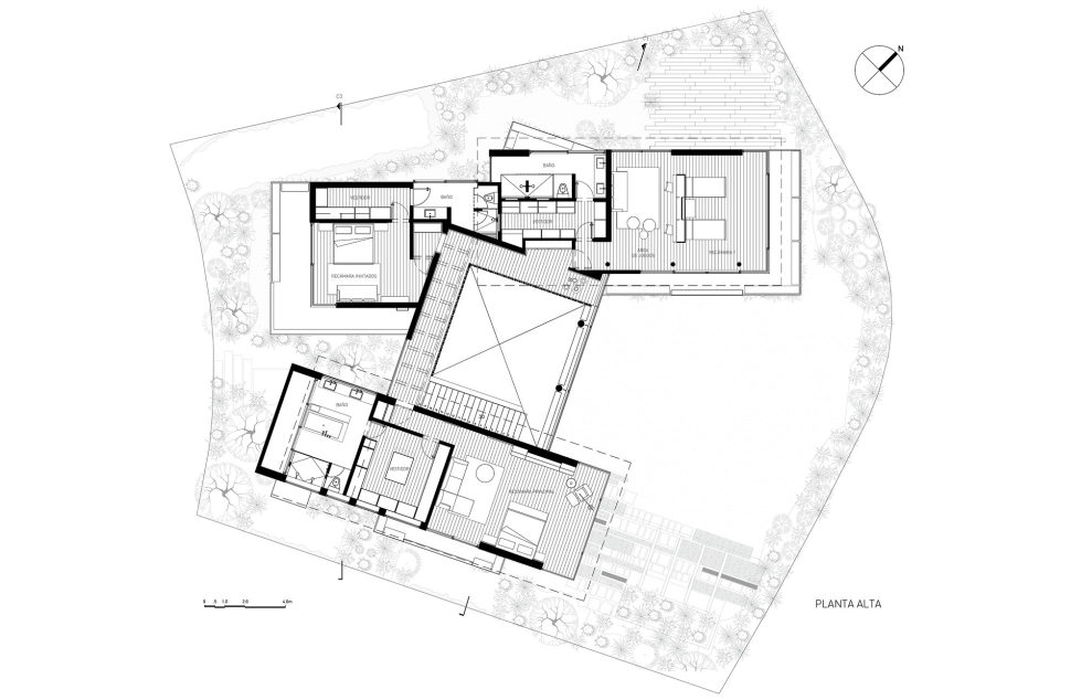 Private Residency Casa V9 In Mexico From VGZ Arquitectura Studio - Plan 3