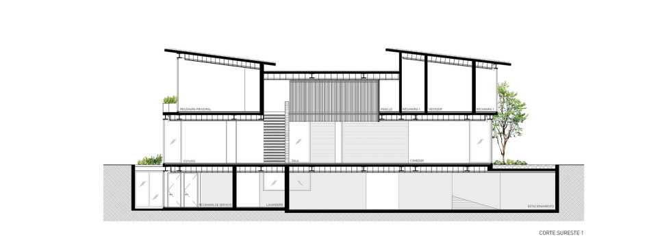 Private Residency Casa V9 In Mexico From VGZ Arquitectura Studio - Plan 5