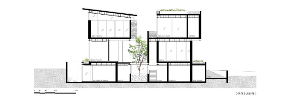 Private Residency Casa V9 In Mexico From VGZ Arquitectura Studio - Plan 6