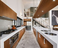 The House In Loft Style With Bright Interior In Pert (Australia)