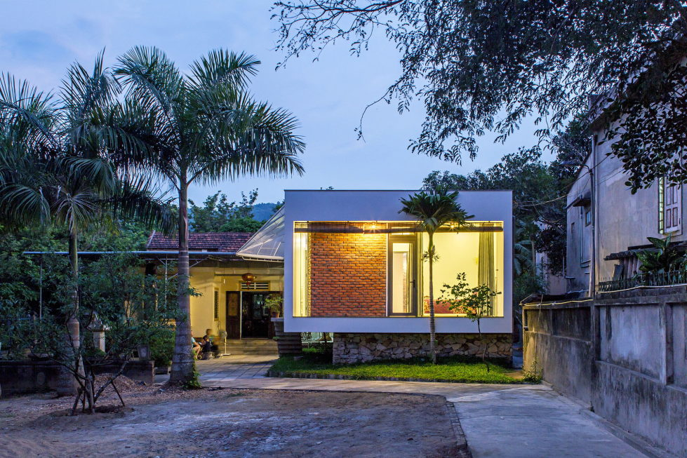 The Shelter Extension Of The Rural Houses Space in Vietnam 1