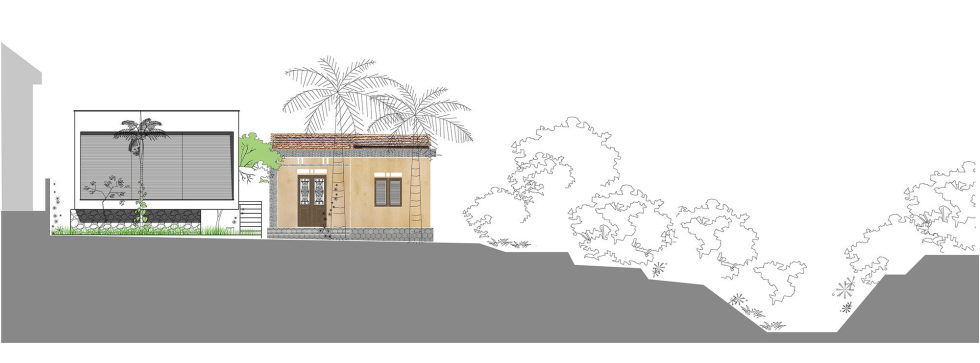 The Shelter Extension Of The Rural Houses Space in Vietnam - Plan 3