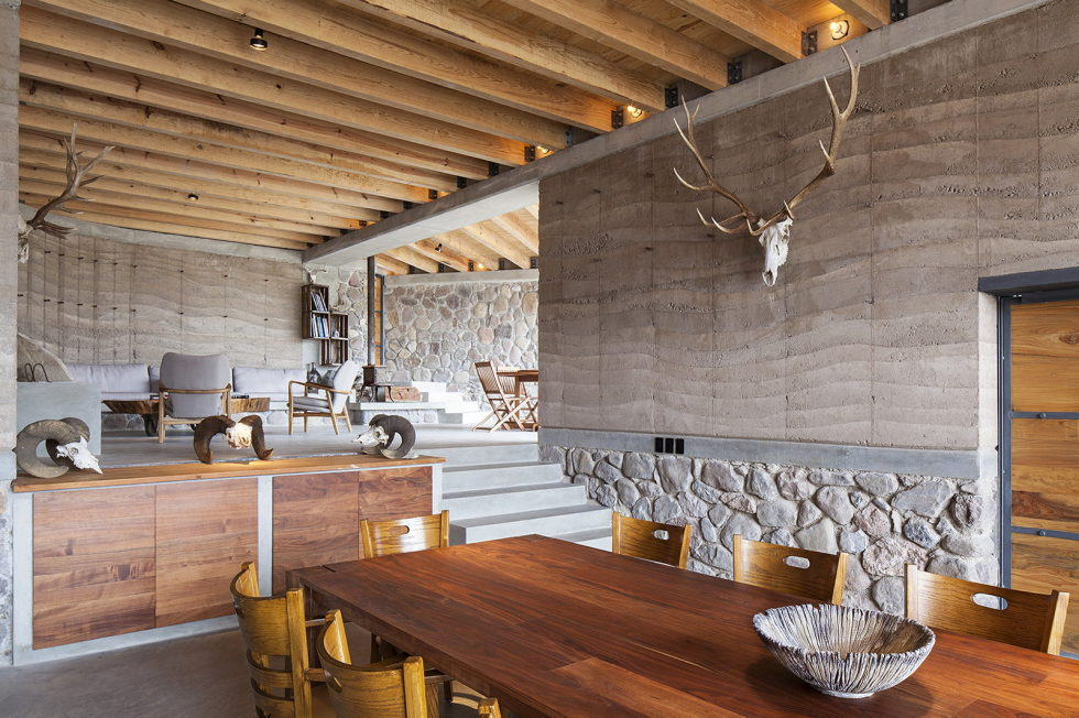 Unusual House From Greenfield Studio At The Ecological Reserve In Mexico 2