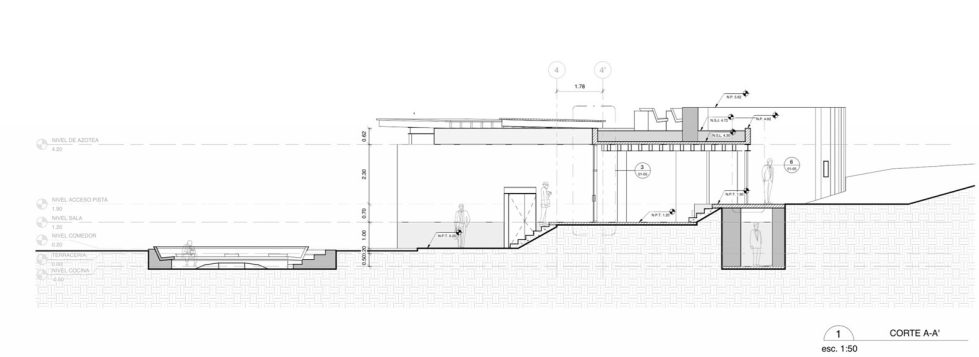 Unusual House From Greenfield Studio At The Ecological Reserve In Mexico - Plan 4