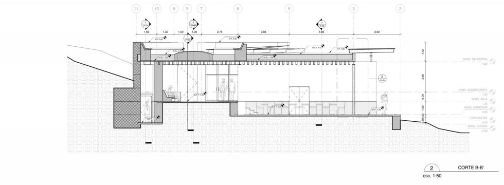 Unusual House From Greenfield Studio At The Ecological Reserve In Mexico - Plan 6