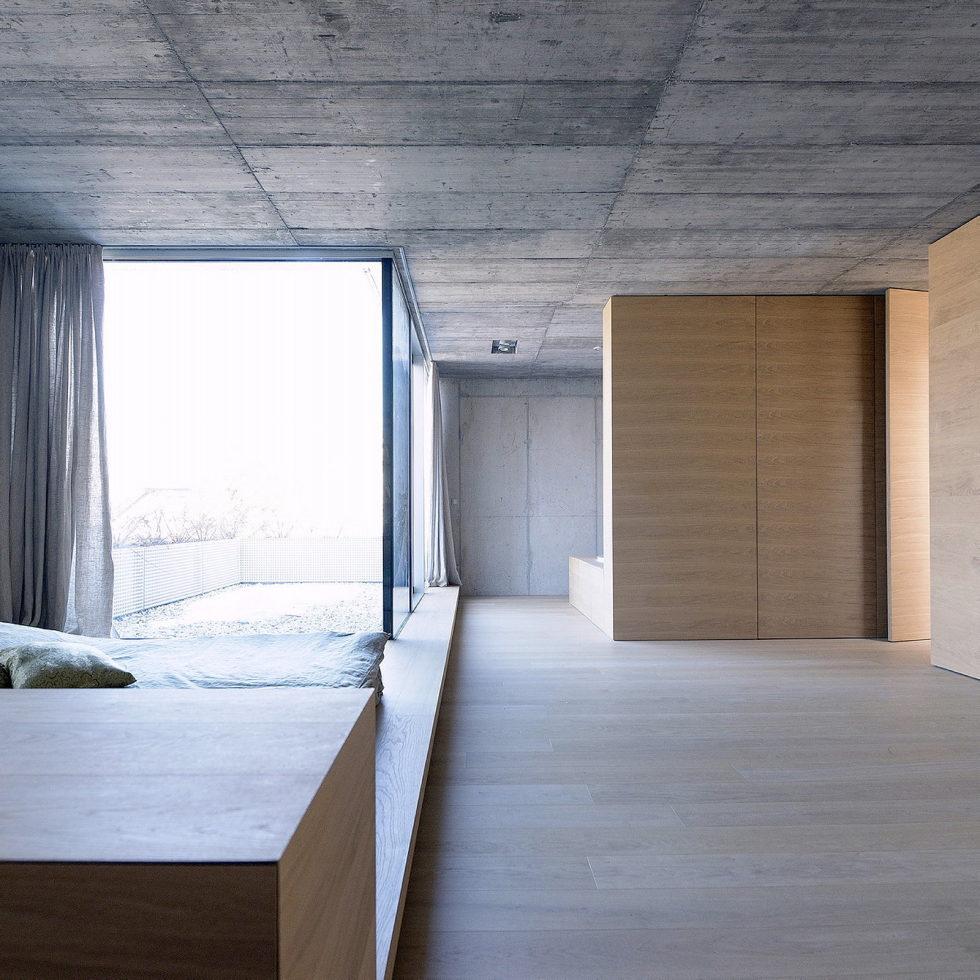 Villa Criss-Cross Envelope In Slovenia From OFIS Arhitekti 11