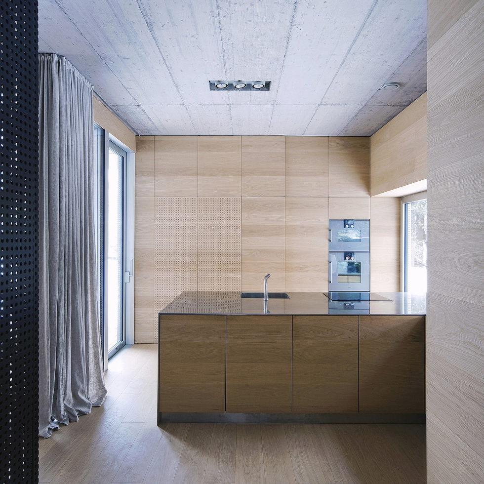 Villa Criss-Cross Envelope In Slovenia From OFIS Arhitekti 12