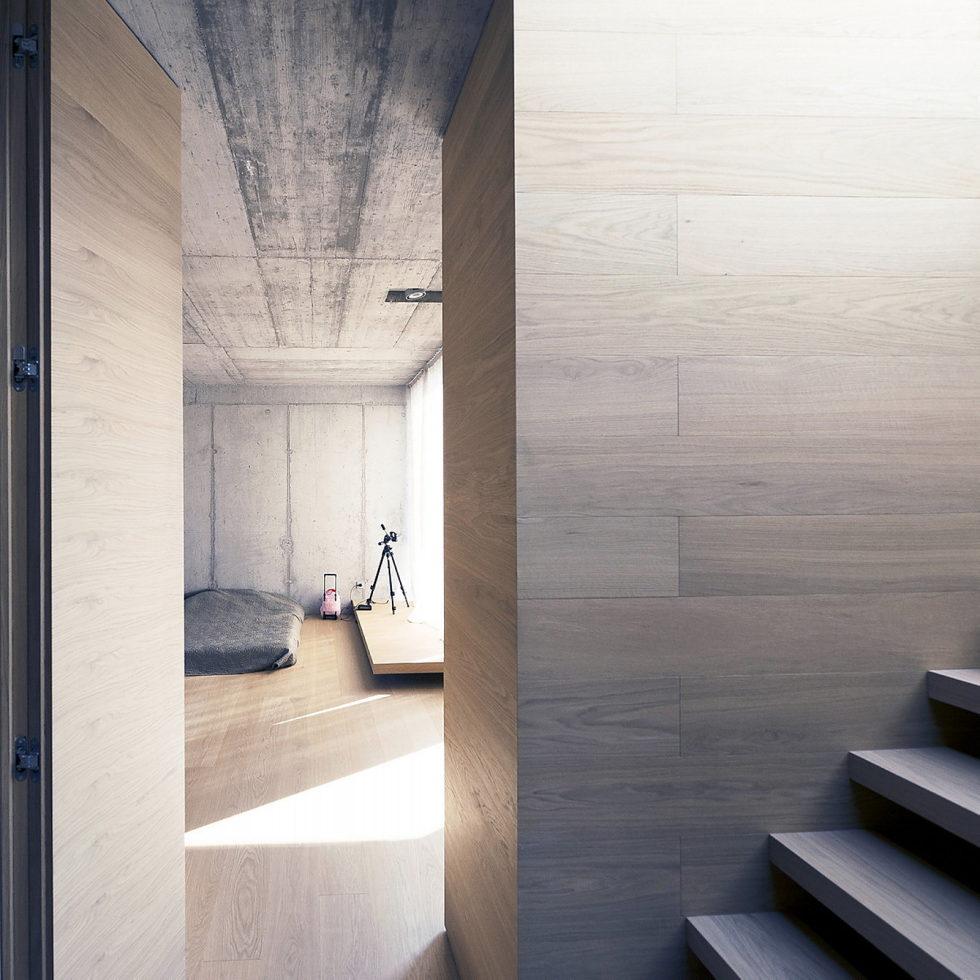 Villa Criss-Cross Envelope In Slovenia From OFIS Arhitekti 13