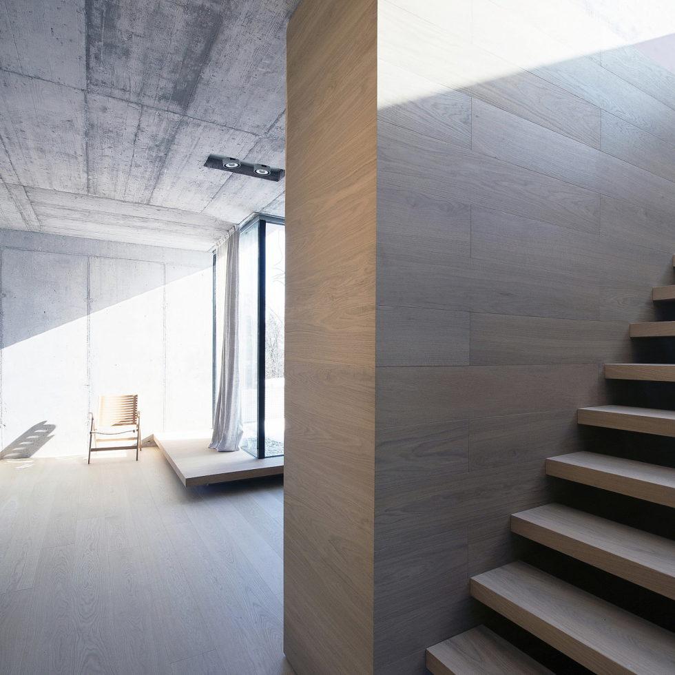Villa Criss-Cross Envelope In Slovenia From OFIS Arhitekti 17