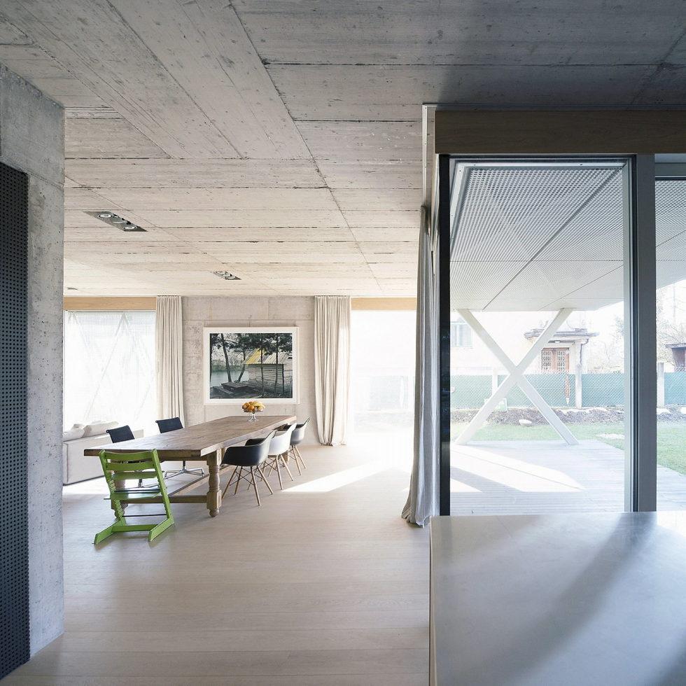 Villa Criss-Cross Envelope In Slovenia From OFIS Arhitekti 6