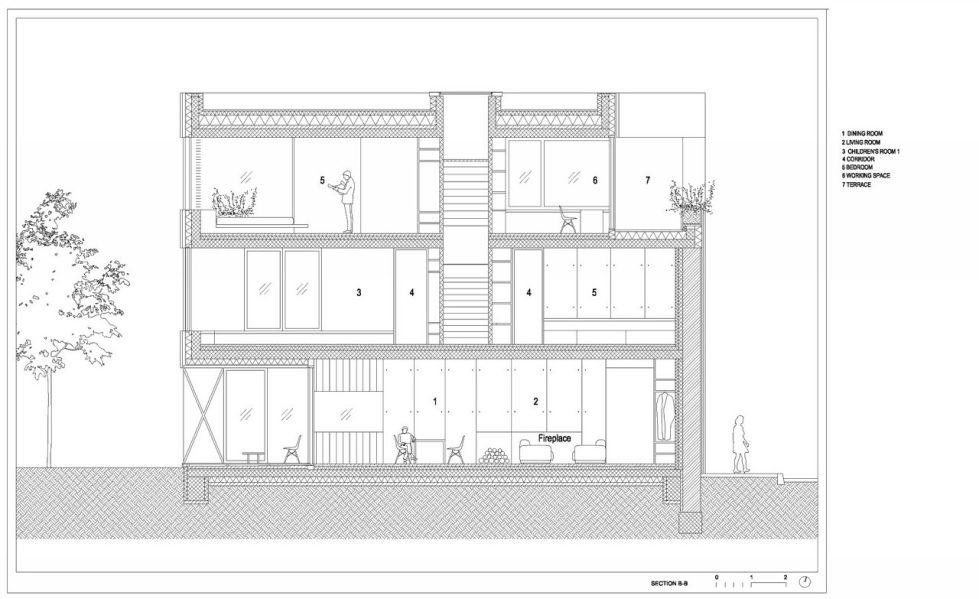 Villa Criss-Cross Envelope In Slovenia From OFIS Arhitekti - Plan 11