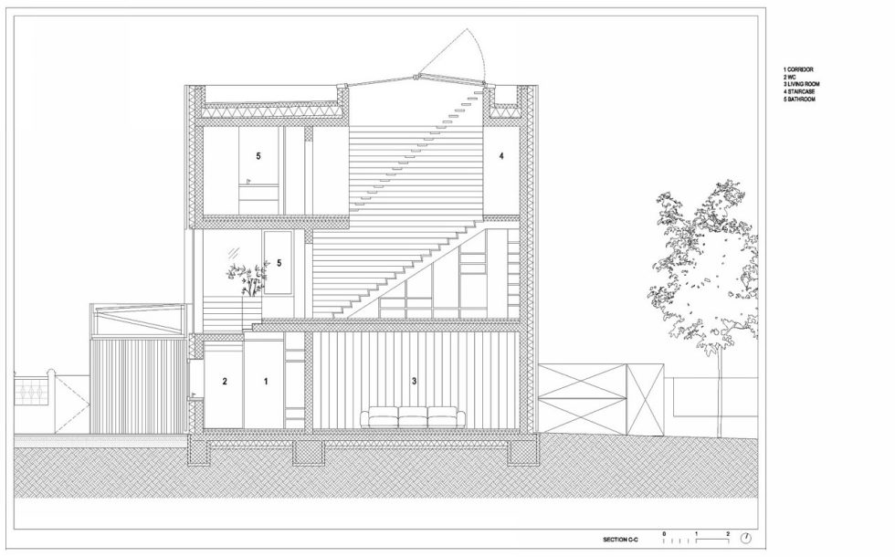 Villa Criss-Cross Envelope In Slovenia From OFIS Arhitekti - Plan 12