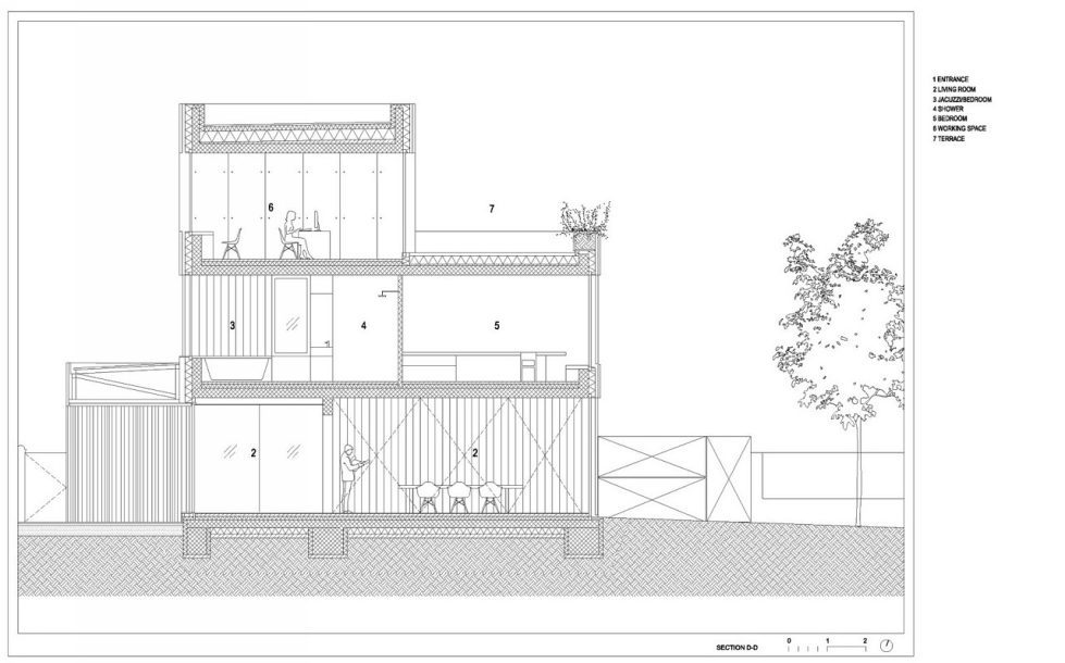 Villa Criss-Cross Envelope In Slovenia From OFIS Arhitekti - Plan 13